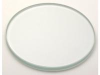 Glasplatte klar 100mm